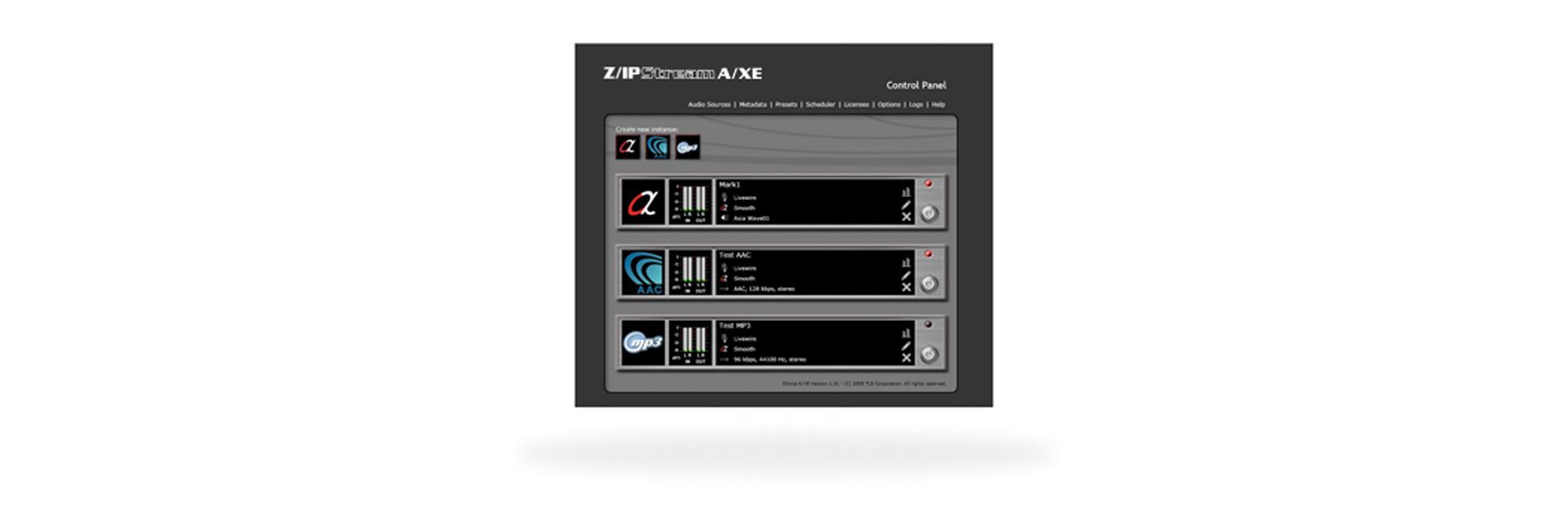 Telos Z/IPStream A/XE